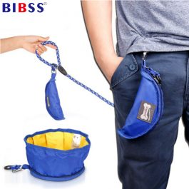 Foldable Pet Dog Bowl Food/Water Storage Bag