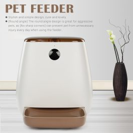 Automatic Pet Feeder Food Dispenser Wi-Fi Enabled App