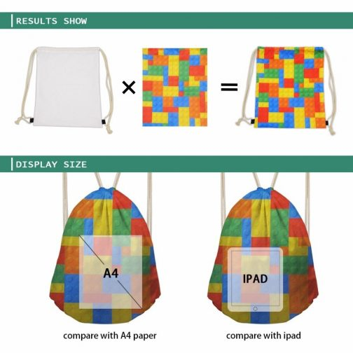 example of bag size