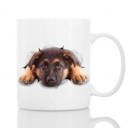 Cutest German Shepherd Dog Mug Ceramic