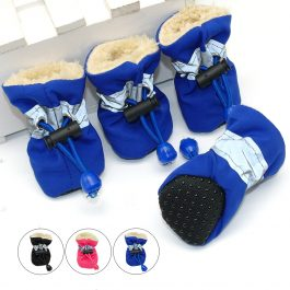 Waterproof Winter Shoes for Small Dogs